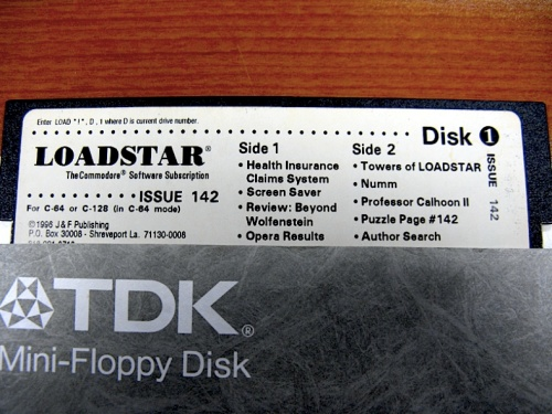 Loadstar magazine, Issue 142, Disk 1