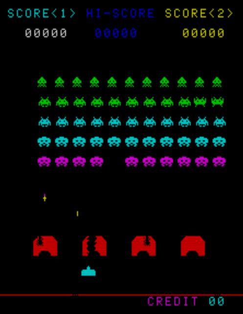 Space Invaders, CV Version