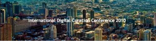 6th International Digital Curation Conference banner
