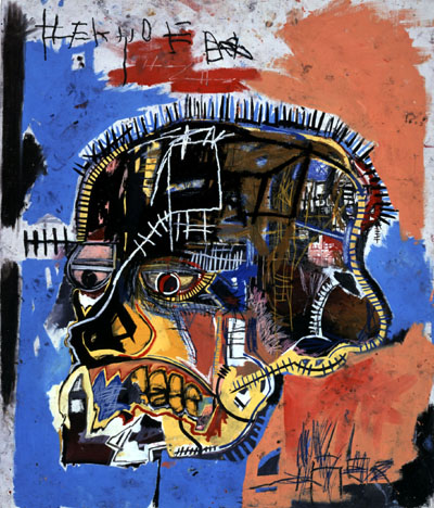 Basquiat, Unknown (Skull)