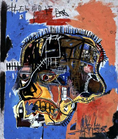 Basquiat, Unknown (Skull)