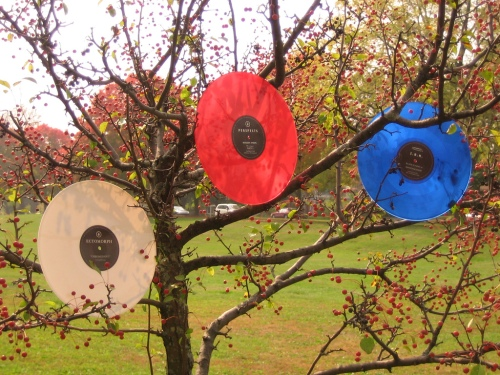 Records on trees
