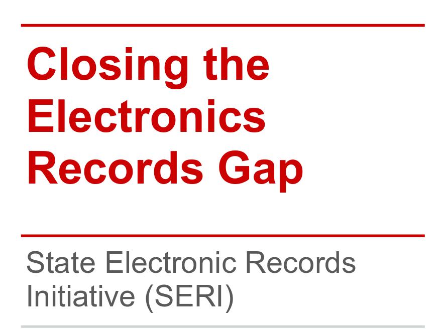 e-Records 2013 Presentation Slides